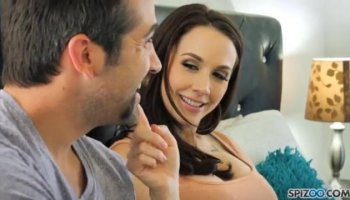Tetona natural graba su primer casting porno anal