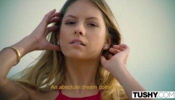 Exotic pornstar Lezley Zen in incredible big cocks, facial adult video