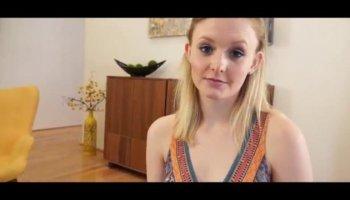 Massage Rooms Big tit lesbian finds teens G-Spot with orgasmic results
