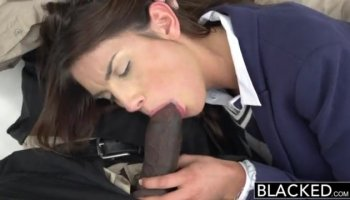 Sexy Latina plays with herself until he comes along and fills up her cunt