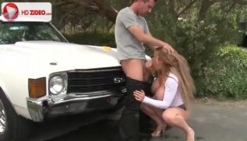 Stacked teen uses the art of seduction to get banged by an older guy