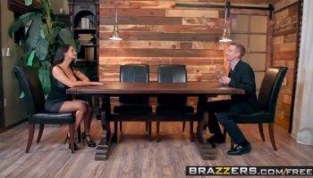 Crazy pornstars Sarah Shevon, Aiden Starr in Exotic Interracial, Anal porn clip