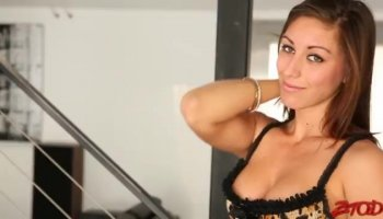 Hottest pornstars Adriana Chechik, Dana Vespoli, James Deen in Exotic Dildos/Toys, Fingering xxx scene