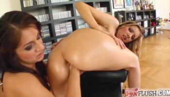 Vanessa Naughty is a naughty bitch who gets her twat hammered