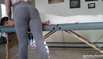 Des Salles de Massage sublime blonde a de fortes orgasme de lesbiennes sexy