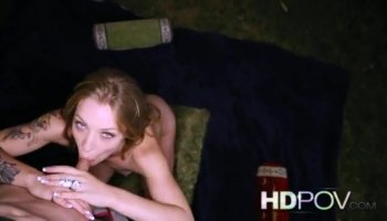 Haley Reed triche avec bbc gloryhole