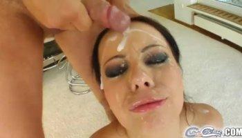 Incredibile pornostar Sophie Lynx nella cornea del viso, spalancata film porno