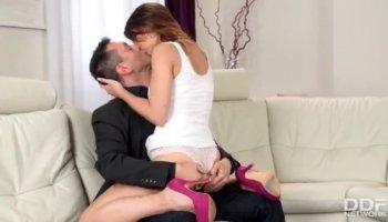 Le migliori pornostar che Adele Sole e Kirsten Impianto pazzo pompino, masturbazione porno clip