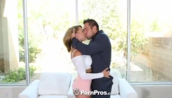 Beautiful Penelope Tyler indulges in lesbian love for the first time