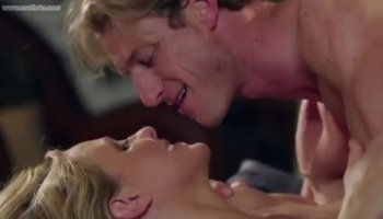 Buxom milf Sara Stone indulges in hot lesbian sex with a sultry blonde