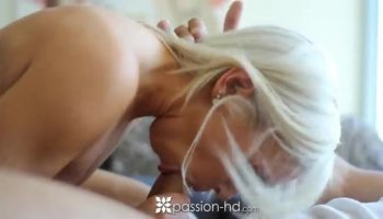 Dana Vespoli begs her bald lover to stick it in her tight butt