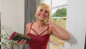 Hottest pornstar Sara Willis in amazing blonde, masturbation xxx scene