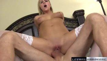 Megan Rain and Adriana Checkik into threeway anal sex