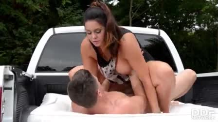 A large white cock for two coquette ebony hoes cherry hilson and nadia jay