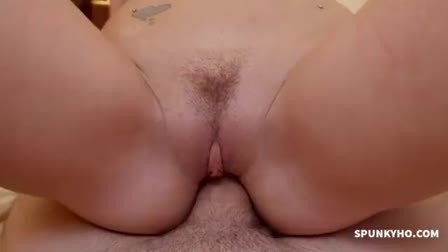 Amateur anal fuck with a huge load of cum