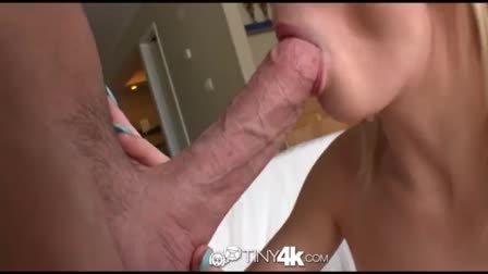 Amateur threesome with double blowjob, anal and cumshot