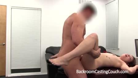 Amazing Anissa Kate kisses black dick with her anus