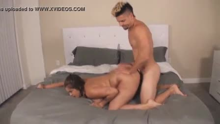 Brunette fattie Jaylene Rio getting snatch hammered by horny guy