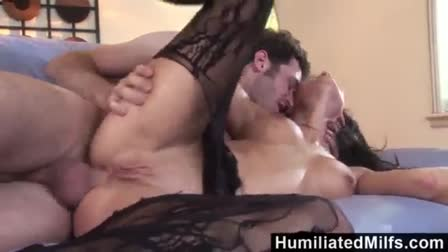 French black hard analyzed cum to mouth in hotel room