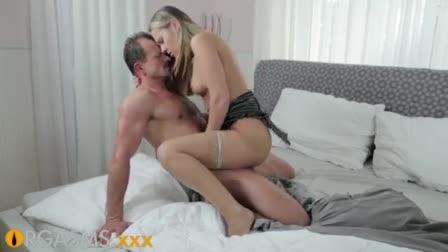 Immaculate french Nikita Belucci orgasms on Nacho big member